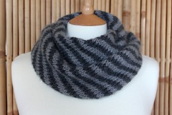 Splendid Striped Cowl