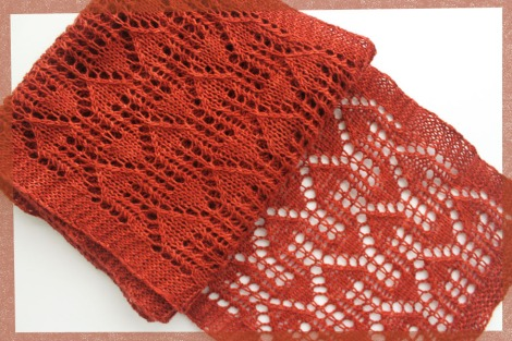 No Place Like Home Scarf - purchase on Ravelry