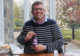 Charles and his favourite - Damson Gin