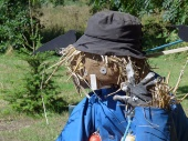 Traditional scarecrow