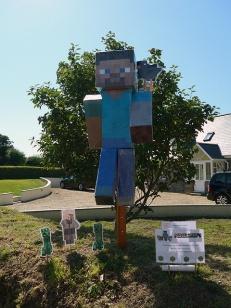 Minecraft scarecrow