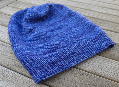 Basic Beanie - free on Crafsty/Ravelry